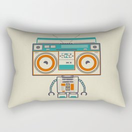 Music robot Rectangular Pillow