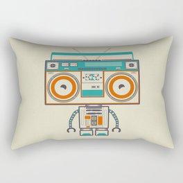 Music robot Rectangular Pillow