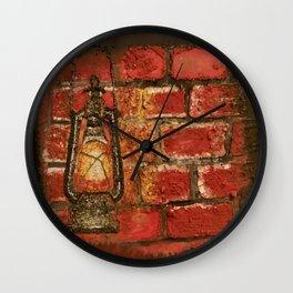 Lantern Wall Clock
