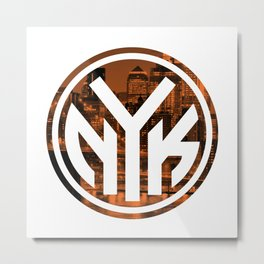 Hometown Pride | New York Knicks Metal Print