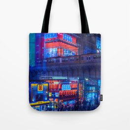 Tokyo Nights / Anime Town / Liam Wong Tote Bag