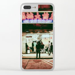 HONG KONG IV Clear iPhone Case