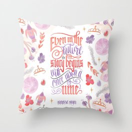 EVEN IN THE FUTURE Throw Pillow
