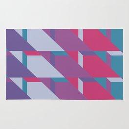 Abstract Drama #society6 #violet #pattern Rug