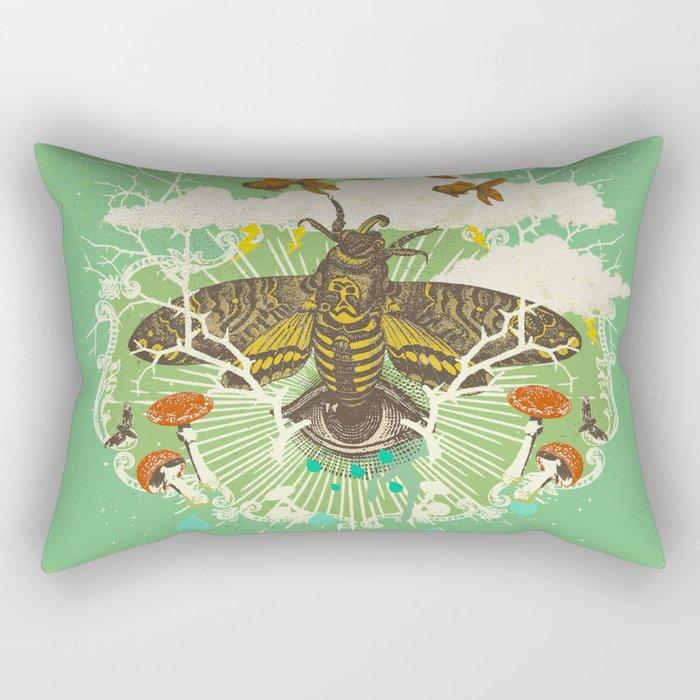 EVENING PSYCHEDELIA Rectangular Pillow