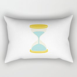 Time is Almost Up! Rectangular Pillow