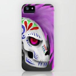 Tattooed Skull iPhone Case