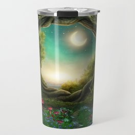 Enchanted Moon Tree Travel Mug