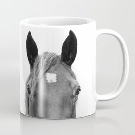 Peeking Horse Coffee Mug