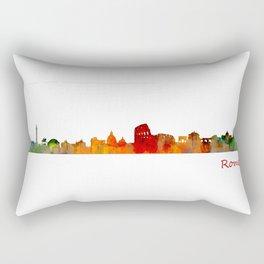 Rome city skyline HQ v01 Rectangular Pillow