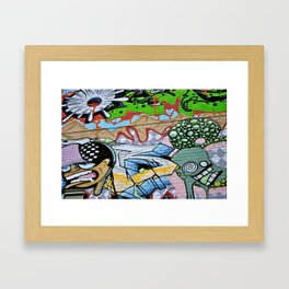 Street Art. Framed Art Print
