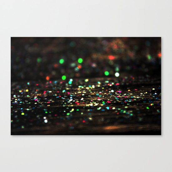 Diamonds in the Rough Canvas Print