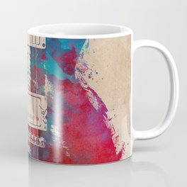 guitar art #guitar Coffee Mug