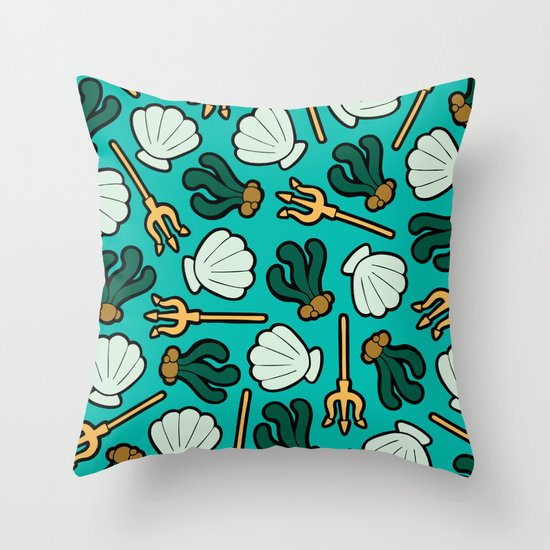 Under the Sea Pattern Throw Pillow