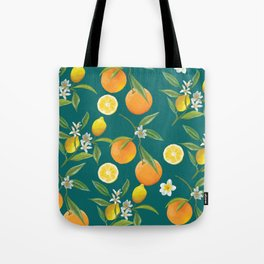 Lemons and oranges Tote Bag