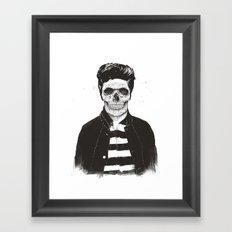 Death fashion Framed Art Print