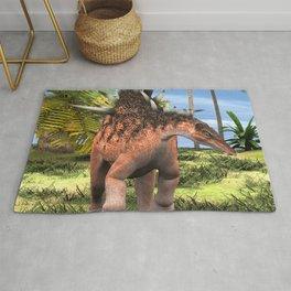 Dinosaur Kentrosaurus Rug
