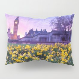 London Cityscape Pillow Sham