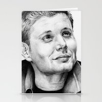 winchester Stationery Cards featuring Dean Winchester by stardustsoul