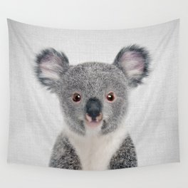 Baby Koala - Colorful Wall Tapestry
