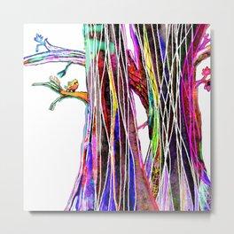 Colored woods Metal Print