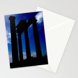 Magic hour on Delos Stationery Cards