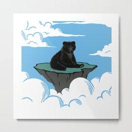 Lonely Bear Metal Print