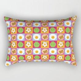 Kawaii Breakfast Rectangular Pillow