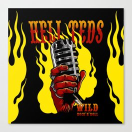 Hell Teds II Canvas Print
