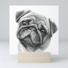 The Pug G123 Mini Art Print