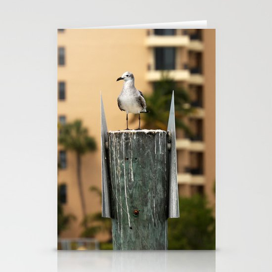 Seagulls lookout Stationery Cards