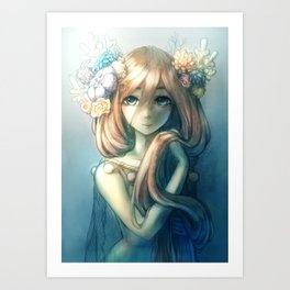 Princess Coral Art Print