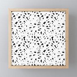 Abstract Freeform Framed Mini Art Print