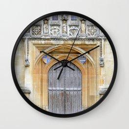 Oxford door 8 Wall Clock