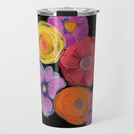 Big blooms in big colour Travel Mug