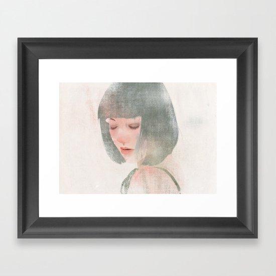 Something About Women V Framed Art Print