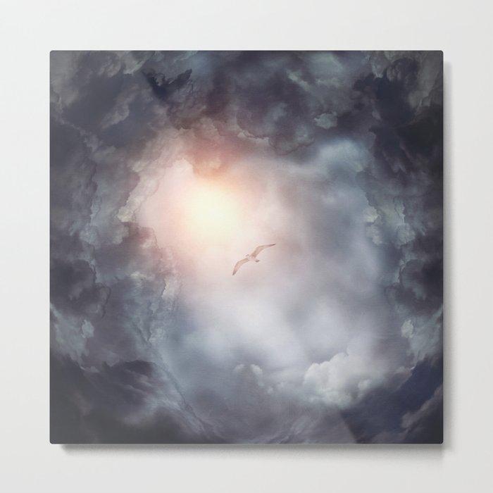 Magic in the Clouds VII Metal Print