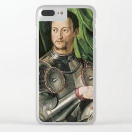 Bronzino - Cosimo De Medici In Armour Clear iPhone Case
