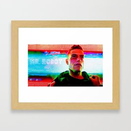 < fsociety00.dat > - Mr. Robot Framed Art Print