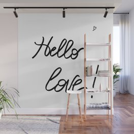 Hello Love! Wall Mural