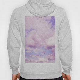 Pink Clouds In The Blue Sky #decor #society6 #buyart Hoody