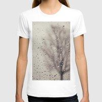 rain T-shirts featuring Rain  by Laura Ruth