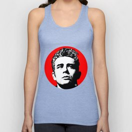 JamesDean01-1 Unisex Tank Top