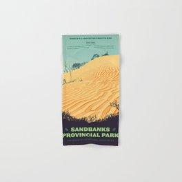Sandbanks Provincial Park Poster Hand & Bath Towel