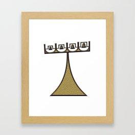 campanile Framed Art Print