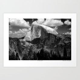 Half Dome, Yosemite II Art Print