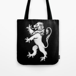 Lion Rampant Hatching Tote Bag