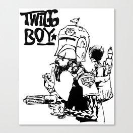 Twig Boy Canvas Print
