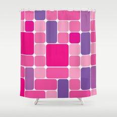 HALIMA 1 Shower Curtain