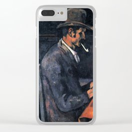 Paul Cézanne - The Card Players Clear iPhone Case